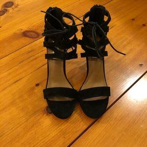 Black Steve Madden Stiletto style heels